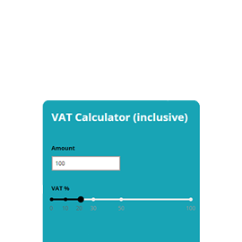 Vat | build and embed your calculator | calconic_.