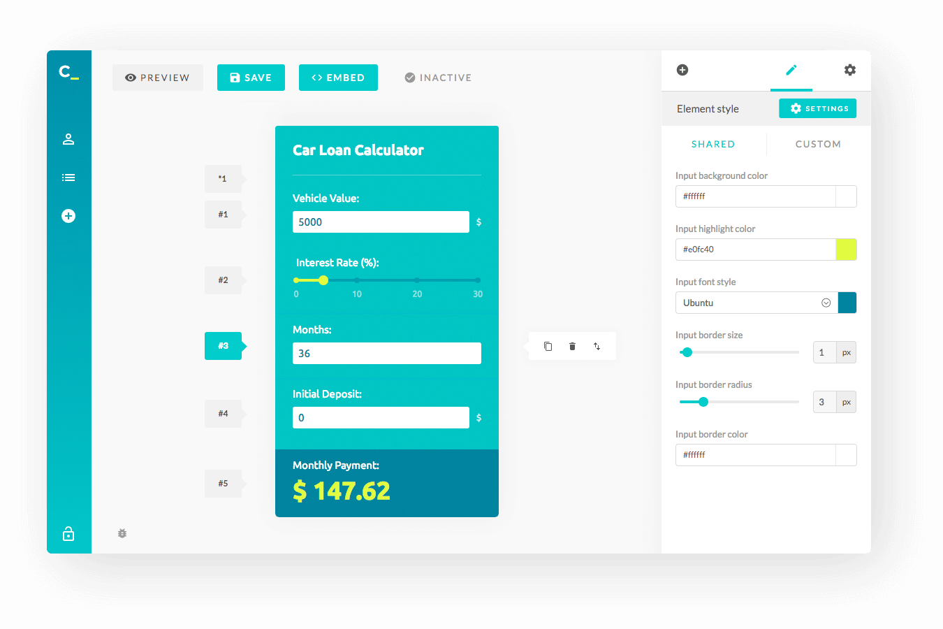 Features For Building A Calculator